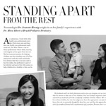 Magazine article about Dr. Chui