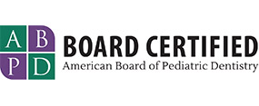 American Board of Pediatric Dentistry board certified dentist logo